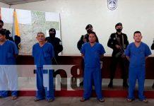 Detenidos por delitos en Chontales