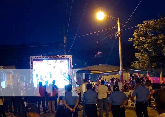 Foto: Militancia sandinista en San Carlos celebró  el 42/19 /TN8