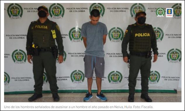 Colombia: Red de narcotráfico reclutaba personas de tercera edad