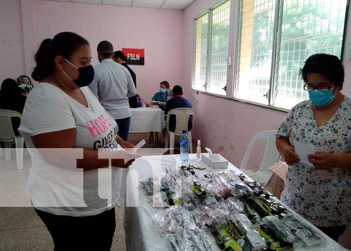 MIna realiza feria oftalmológica Ticuantepe