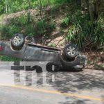 nicaragua, juigalpa, accidente , daños materiales,