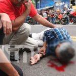 Foto: Motociclista atropelló a una persona que se desplazaba en una bicicleta en Estelí/TN8