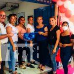 Foto. Estrenan moderna aula de belleza en el Centro Tecnológico de Chinandega/TN8