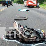 Invasión de carril provoca accidente mortal en Tipitapa