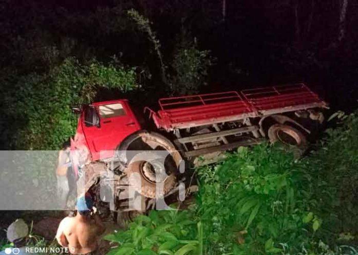 Dos accidentes y varios heridos en una noche en El Ayote, Chontales / FOTO / TN8