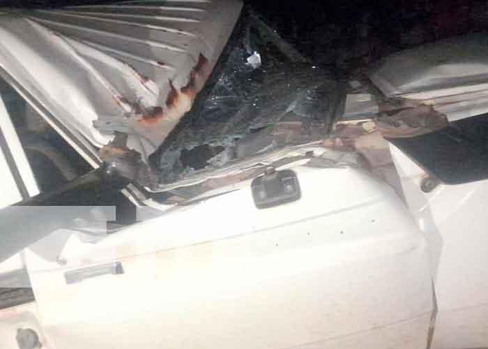 Dos accidentes y varios heridos en una noche en El Ayote, Juigalpa / FOTO / TN8