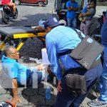 Uno de los tantos accidentes viales que ocurren en Nicaragua