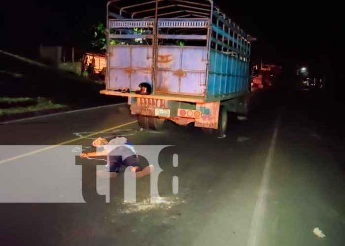 Abogado pierde la vida en accidente sobre la carretera Masaya a Catarina / FOTO / TN8