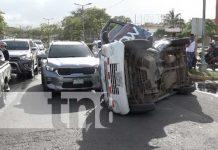 Representación de accidentes de tránsito en Nicaragua