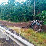 Un camión termina hecho chatarra en la peligrosa cuesta La Toboba / FOTO / TN8