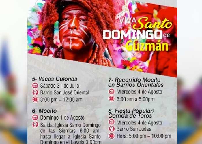 Actividades por Santo Domingo en 2021