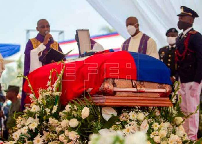 Sepultan al asesinado presidente de Haití, Jovenel Moise
