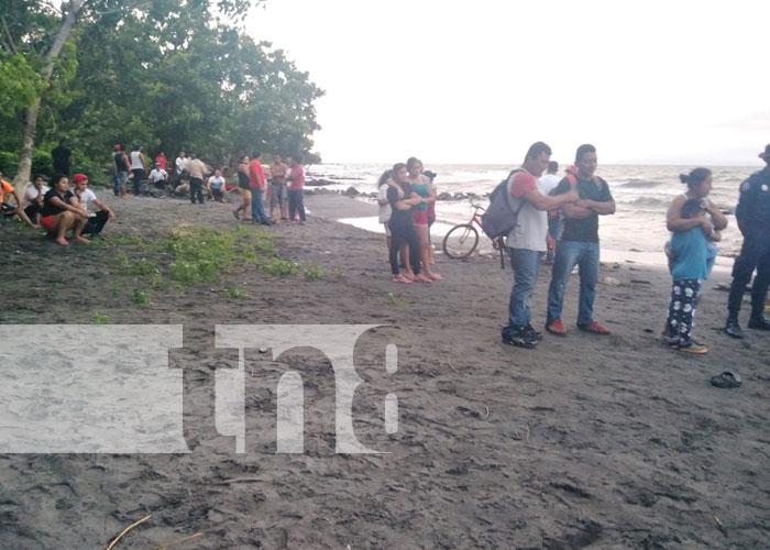 Foto: Hombre perece ahogado en la Isla de Ometepe /TN8