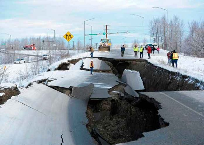 De película: Así se vivió el terremoto de 8,2 que sacudió Alaska