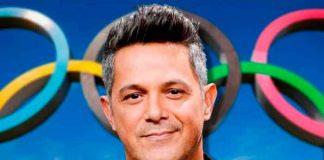 Alejandro Sanz canta Imagine en la apertura de los Juego Olímpicos