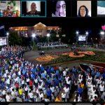 Foto: Encuentro virtual por el 42/19 en Alemania / Cortesía
