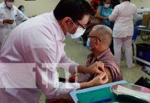 Jornada de vacunación en Nicaragua contra el COVID-19