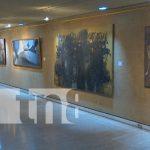 Foto: Exposición de artes plásticas en el teatro Rubén Darío / TN8