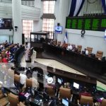 Sesión parlamentaria en la Asamblea Nacional