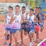 Jóvenes participando en Atletismo en Nicaragua