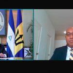 Embajador de Barbados presentó copias de estilo de sus cartas credenciales