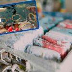Insólito: Da a luz nueve bebés gasta 100 pañales y seis litros de leche al día