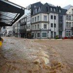 Alertas rojas por lluvias e inundaciones en Países Bajos y Bélgica