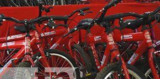 Entrega de bicicletas para educación primaria en Estelí