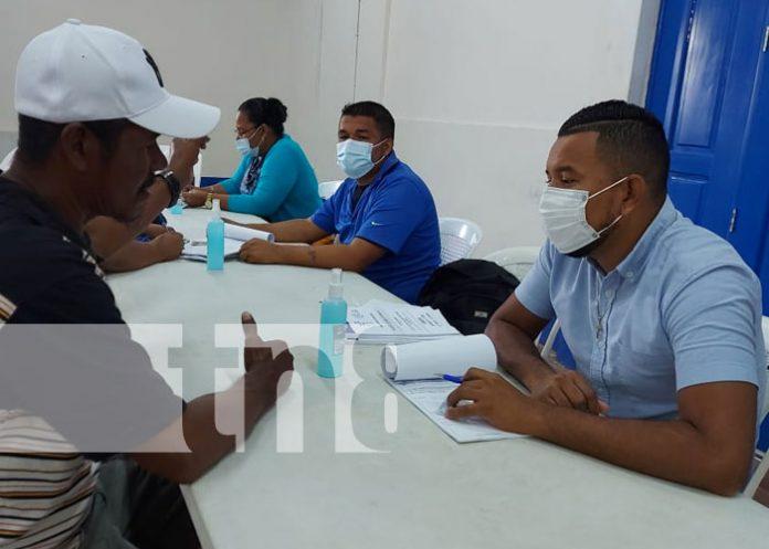 Foto: En paz y tranquilidad se desarrolla el proceso para verificarse en Bilwi / TN8