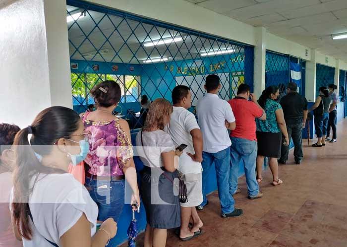 Foto: Ciudadanos de Bluefields realizan verificación ciudadana / TN8