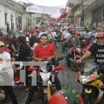 Foto: Caravana en Boaco por la Revolución Sandinista / TN8
