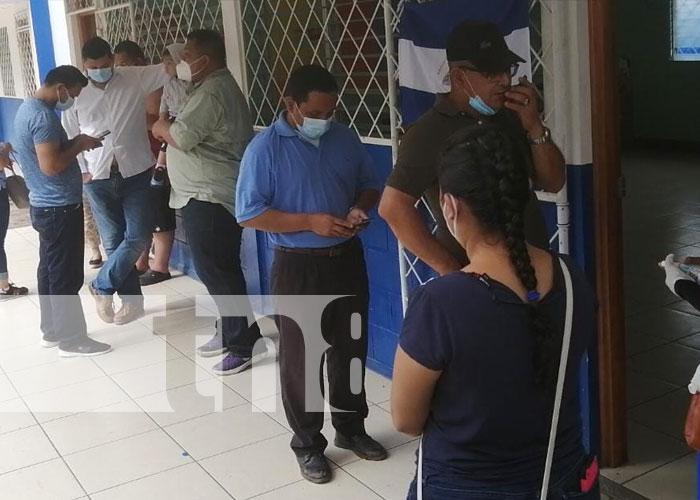 Foto: Buena asistencia en Boaco durante jornada de verificación / TN8