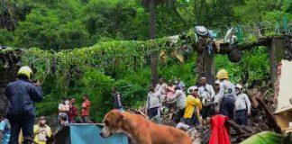 Deslizamiento de tierra por monzón deja al menos 34 muertos en la India