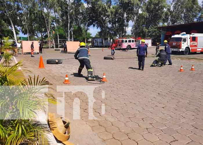 nicaragua, bomberos, curso, capacitacion,