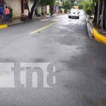 Nuevas calles en Batahola Sur, Managua