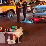 Accidente de tránsito deja hombre tirado en Rotonda Hugo Chávez