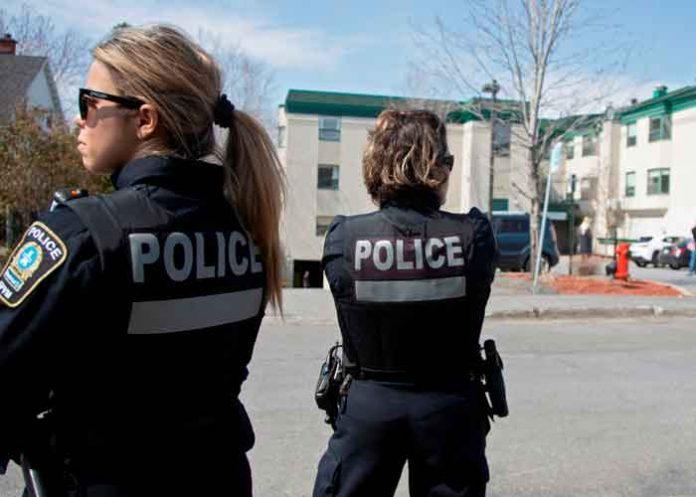 Agentes policiales de Canadá
