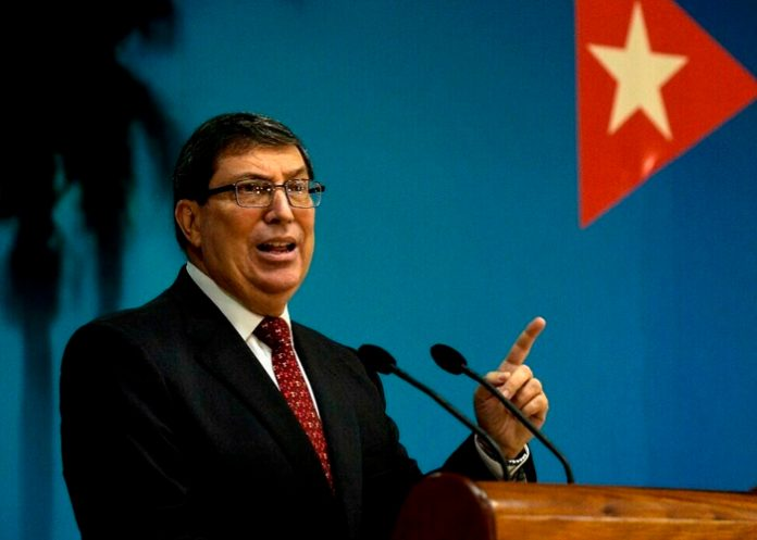 Canciller cubano rechazó declaraciones del Gobierno estadounidense sobre asuntos internos de la isla