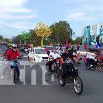 Foto: Caponeros, taxistas y motorizados participan en caravana 42/19 /TN8