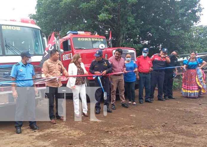 Foto: Estación de Bomberos 114 se inaugura en San Marcos/TN8