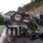 Foto: Accidente deja 3 fallecidos en Amarateca Honduras / TN8