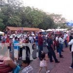 Celebración de la Revolución en Managua