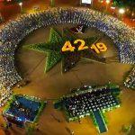 Ambiente de la celebración del 42/19 en Nicaragua