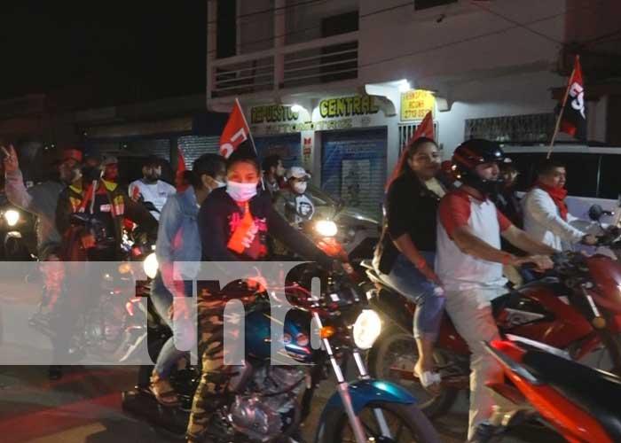 Celebración en Estelí de la Revolución Sandinista el 19 de julio