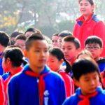 Ella es la niña china que tiene 14 años y mide... ¡2.26 metros!
