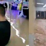 Metro en China: Pasajeros con el agua al cuello y aferrados a las asas / FOTO / Captura