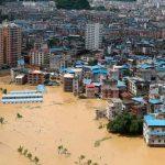 Foto: Devastadoras inundaciones en China/Cortesía