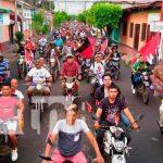 nicaragua, chinandega, caravanas, julio victorioso,
