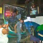 Fuerte accidente deja como resultado a 14 lesionados en El Salvador