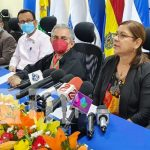 Conferencia de prensa del Consejo Nacional de Universidades
